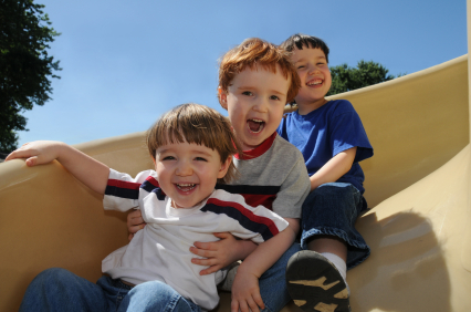 Kids on a Slide - Pediatric Dentist - Madison, Jackson & Ridgeland, MS